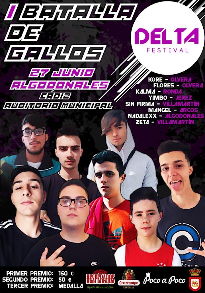 Este año por primera vez incorporamos a nuestro cartel una Batalla se Gallos de ocho participantes de toda la sierra de Cádiz.