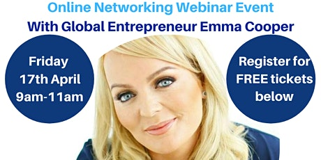 Introbiz Online Networking Webinar with Emma Cooper tickets