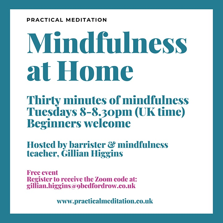 Mindfulness at Home image