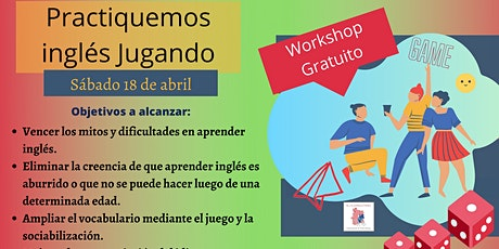 Workshop online: Aprendamos inglés jugando biglietti