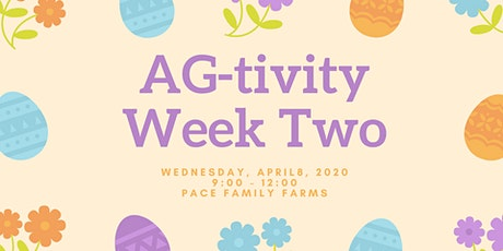 AG-tivity Week Two tickets