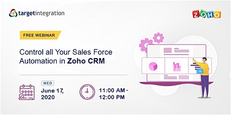 Control all Your Sales Force Automation in Zoho CRM tickets