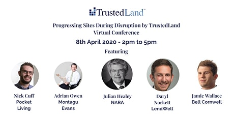 Progressing Sites During Disruption by TrustedLand - Virtual Conference for SME Development Professionals tickets