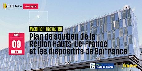 [covid19] WEBINAR : plan de soutien de la Région Hauts-de-France et les dispositifs de Bpifrance billets