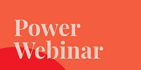 Power Webinar: Building a personal brand in a time of uncertainty tickets
