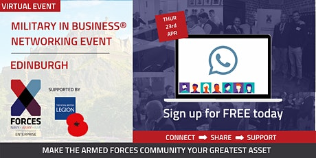 Military in Business Virtual Networking Event - Edinburgh tickets