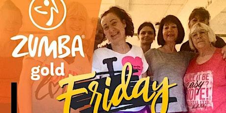 Online Zumba Gold Fri 1.30pm (BST) First class free tickets