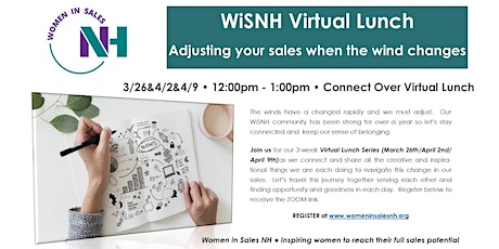 WiSNH Virtual Luncheon Series - Adjusting Your Sales When the Winds Change - Session III tickets
