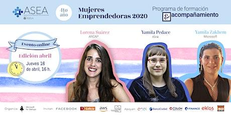Mujeres Emprendedoras Online 2020 entradas
