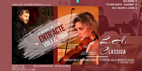 ENTR'ACTE - L.A. CLASSICA Festival 2020 biglietti