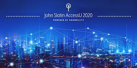John Slatin AccessU 2020: The Virtual Accessibility Training Experience tickets