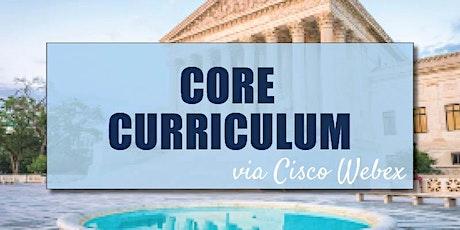 CB Bain   Core Curriculum (3 CH-WA)   Cisco Webex   April 23rd 2020 tickets
