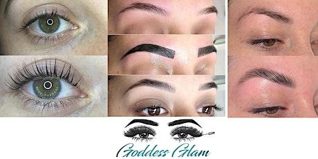 Atlanta GA Lash Lift & Tint/ Brow Lamination/ Henna Brow Certification- Goddess Glam tickets