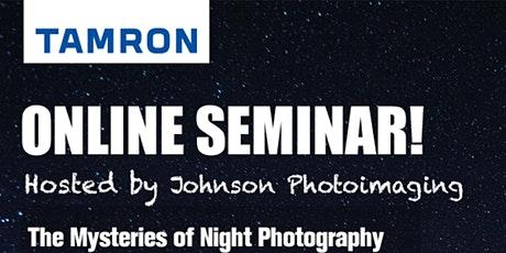 Mysteries of Night Photography with Ken Hubbard tickets