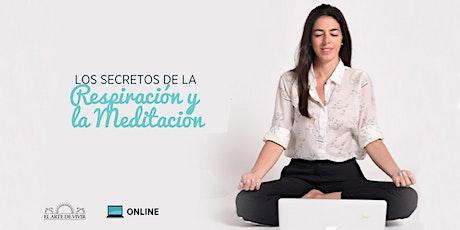 Taller online de Respiración y Meditación - Introducción al curso de El Arte de Vivir en Queretaro entradas