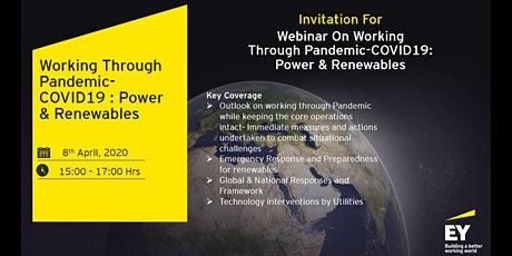 Working through Pandemic-COVID19: Power & Renewables tickets