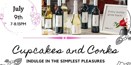 Cupcakes and Corks tickets