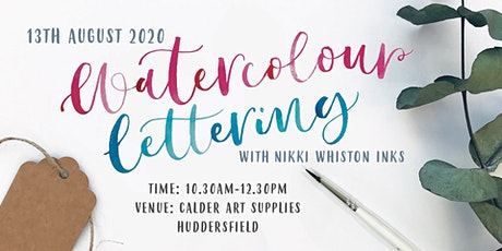 Beginner Watercolour Calligraphy Workshop tickets