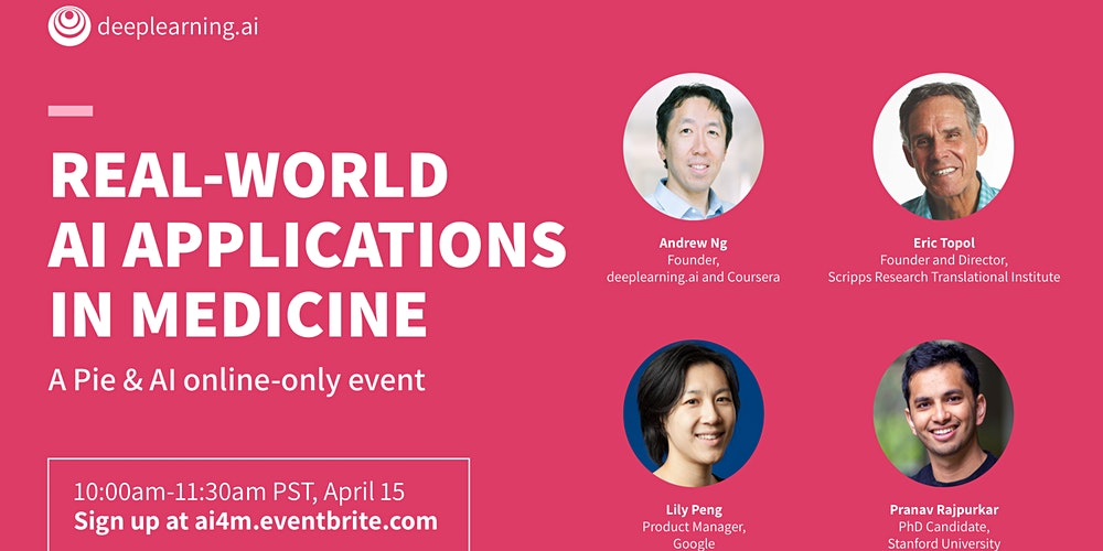 Online Pie & AI: Real-world AI Applications in Medicine
