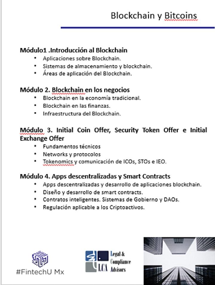 Imagen de Curso Online Blockchain y Bitcoins