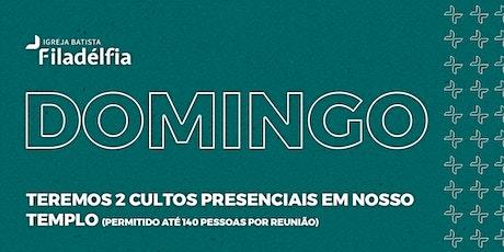 CULTOS DE DOMINGO - 05/04/20 #FamiliaFiladélfia ingressos