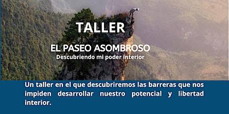 """TALLER """"EL PASEO ASOMBROSO"""" boletos"""