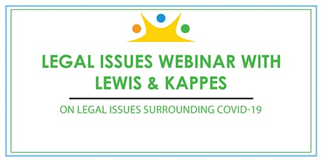ICSN and Lewis & Kappes Legal Webinar Series vol. 4 tickets