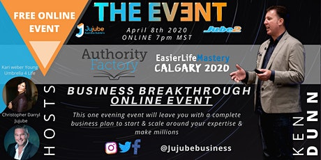 THE EVENT - Business Breakthrough with Ken Dunn tickets