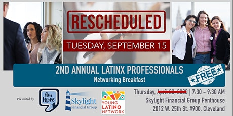 2nd Annual Latinx Professionals Networking Breakfast  tickets