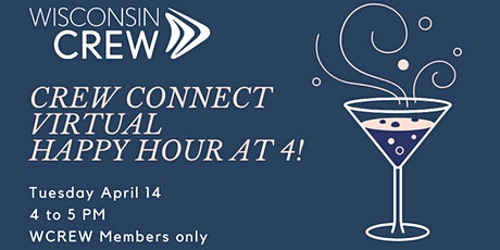 Crew Connect- Virtual Happy Hour tickets