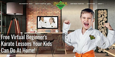 FREE Beginner Martial Arts Virtual Lessons in Fleming Island tickets