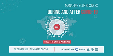 Managing your business during and after COVID-19 | VOL.1 tickets