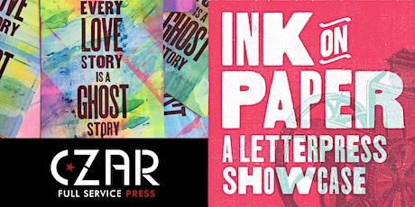 Letterpress Showcase tickets