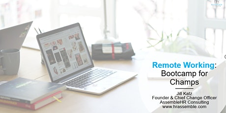 Unilever - Virtual Meetings Bootcamp (Session 1 - April 15) tickets