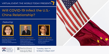 The World Today: Will COVID-19 Infect the U.S.-China Relationship? tickets