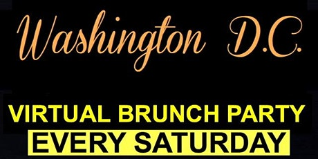 Washington DC Virtual LIVE Brunch Party tickets