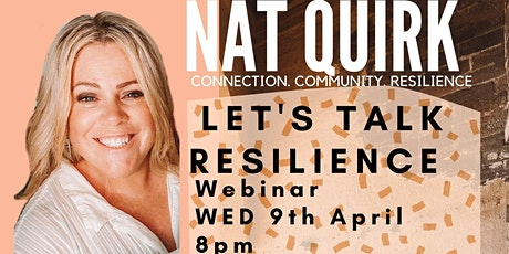 Let's Talk Resilience tickets