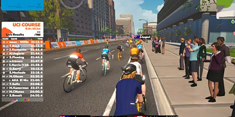 Virtual Cycling on Zwift tickets