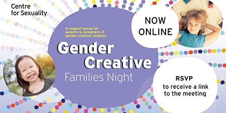 Gender Creative Families Night - ONLINE tickets