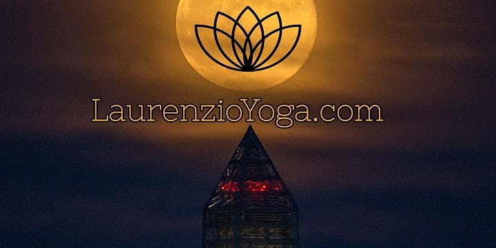 Vollmond Flow Yoga Workshop & Meditation in Zwillinge mit Laurenzio Metzler: Bild