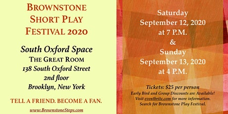 Brownstone Play Festival tickets