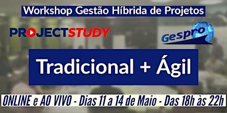 Workshop Gestão Híbrida de Projetos - ONLINE e AO VIVO! bilhetes