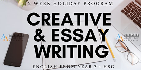 Creative Writing + Essay Writing tickets