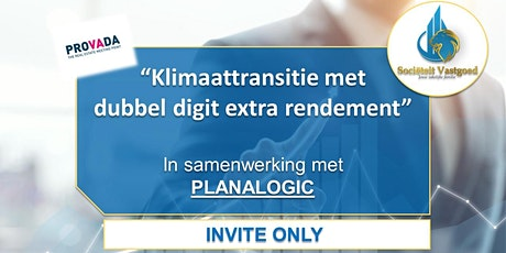 Tech Lunch - Klimaattransitie met dubbel digit extra rendement tickets