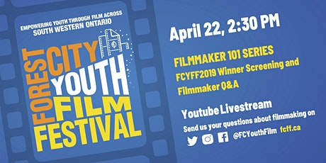 Youth Filmmaking 101 Series: Introduction + Filmmaker Q&A tickets
