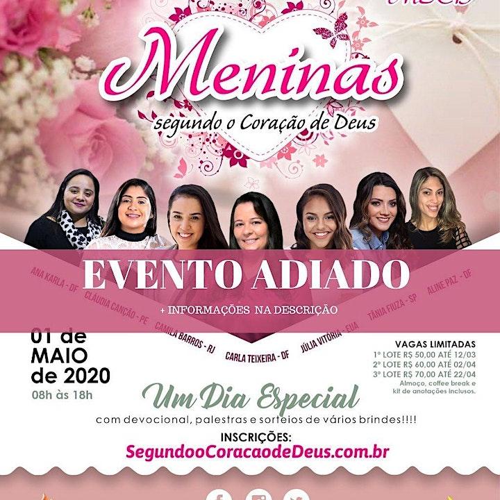 Imagem do evento Meninas Segundo o Coração de Deus - MSCD 2020