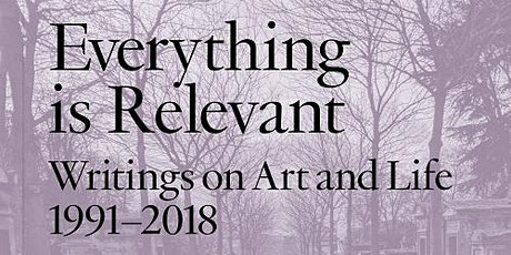 Online launch/discussion: Ken Lum, Everything is Relevant  tickets