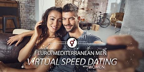 Euro/Mediterranean Men Speed Dating | F 34-46, M 36-49 tickets