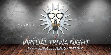 Virtual Trivia Night | Age 40-55 | April tickets