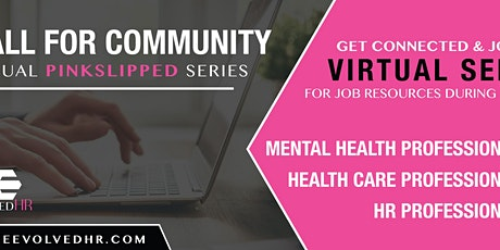 A Call For Community : A Virtual Series tickets